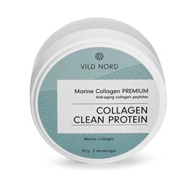 Marine Collagen Clean Protein, 10g, VILD NORD